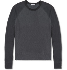 James Perse Loopback Cotton Jersey Sweater
