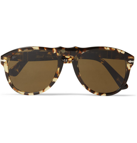 Persol 649 54 Tabacco Virginia Polarised Acetate Sunglasses