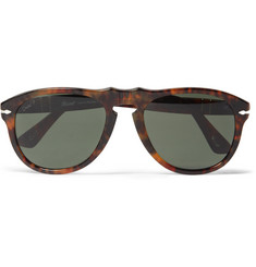 Persol 649 54 Caffé Polarised Acetate Sunglasses