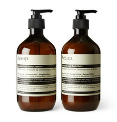 Aesop - Geranium Leaf Duet Body Cleanser and Balm, 2 x 500ml