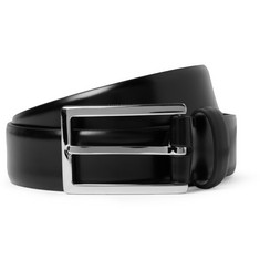 Mulberry 3cm Black Leather Belt