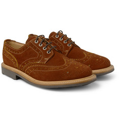 Mark McNairy Suede Wingtip Brogues