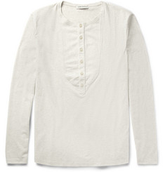 Oliver Spencer Bib-Front Cotton-Jersey T-Shirt