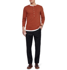 Oliver Spencer Cotton-Jersey Henley T-Shirt
