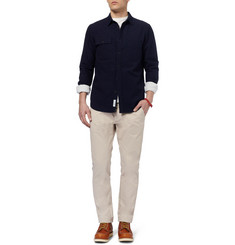 NN.07 Simon Slim-Fit Brushed Cotton-Twill Chinos