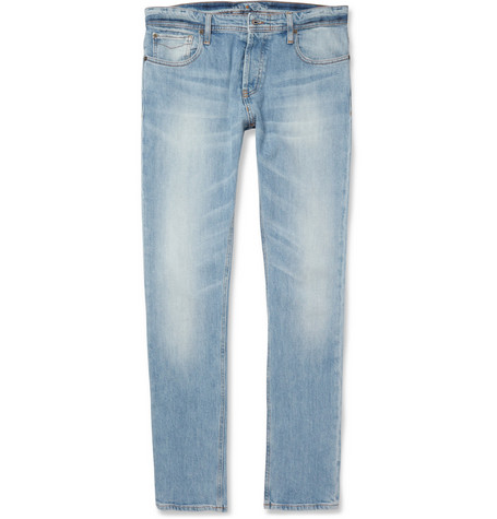 NN.07 Peter Slim-Fit Washed-Denim Jeans