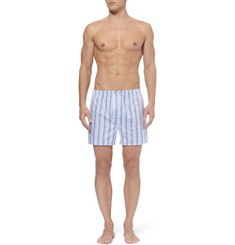 Derek Rose Dawn Striped Cotton Boxer Shorts
