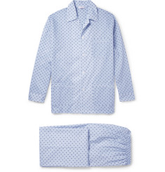 Derek Rose Arlo Printed Cotton Pyjama Set