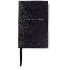 Smythson Musings of a Genius Leather Notebook