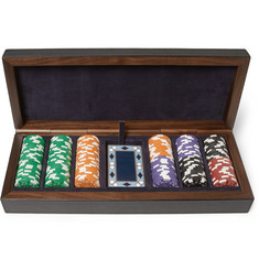 Smythson Leather-Bound Poker Set