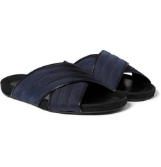 Dan Ward Woven Crossover Sandals