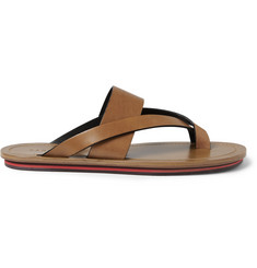 Dan Ward Rubber-Soled Leather Sandals