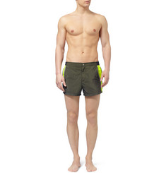 Dan Ward Panelled Short-Length Swim Shorts