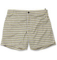 Dan Ward Printed Mid-Length Swim Shorts