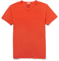 Dan Ward Cotton-Jersey V-Neck T-Shirt