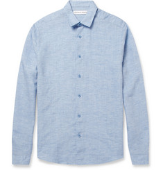 Orlebar Brown Morton Linen Shirt