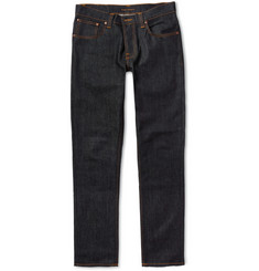 Nudie Jeans - Grim Tim Slim-Fit Organic Dry Denim Jeans