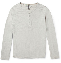 Nudie Jeans Fairtrade Organic Cotton-Jersey Henley T-Shirt