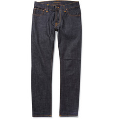 Nudie Jeans - Thin Finn Slim-Fit Organic Dry Denim Jeans