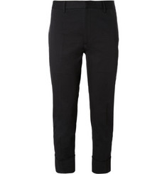 Jil Sander Regular-Fit Cotton-Twill Trousers
