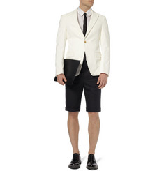 Jil Sander Linen and Cotton-Blend Blazer