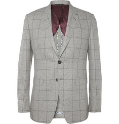 Paul Smith London Slim-Fit Slub Woven-Silk Blazer