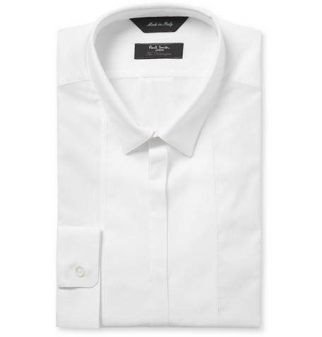 Paul Smith London Kensington Slim-Fit Bib-Front Cotton Tuxedo Shirt