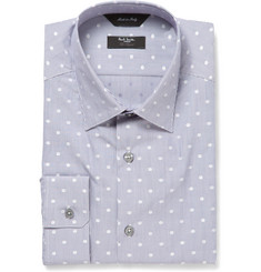 Paul Smith London Swiss Dot-Print Cotton Shirt