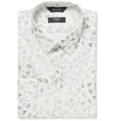 Paul Smith London Flower-Print Cotton Shirt
