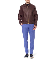Paul Smith London Leather Bomber Jacket