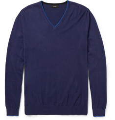 Paul Smith London V-Neck Cotton Sweater