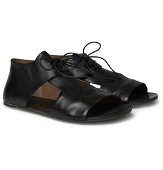 Marsell Cut-Out Leather Sandals