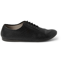 Marsell Woven-Leather Derby Shoes