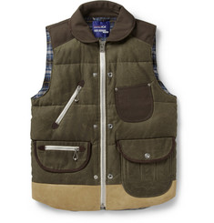 Junya Watanabe Duvetica Down-Filled Cotton Gilet
