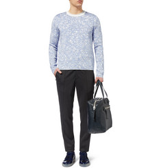 Balenciaga Patterned Knitted Sweater