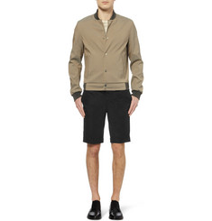 Balenciaga Slim-Fit Cotton-Twill Shorts