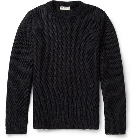Balenciaga Tuck-Stitch Sweater
