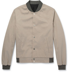 Balenciaga Cotton and Silk-Blend Bomber Jacket