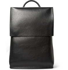 Balenciaga Semi-Structured Leather Backpack