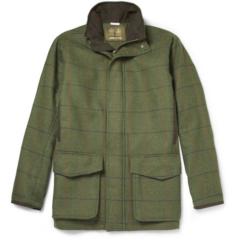 Musto Shooting Check Stretch-Tweed Field Jacket