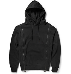 McQ Alexander McQueen Zipped Cotton-Terry Hoodie