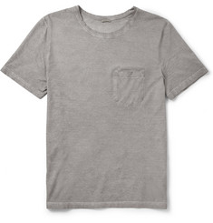 Massimo Alba Garment-Dyed Cotton T-Shirt