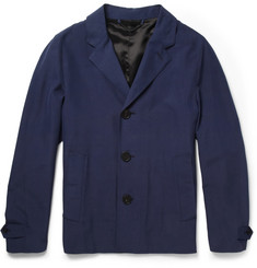 Burberry Prorsum Unstructured Silk Blazer
