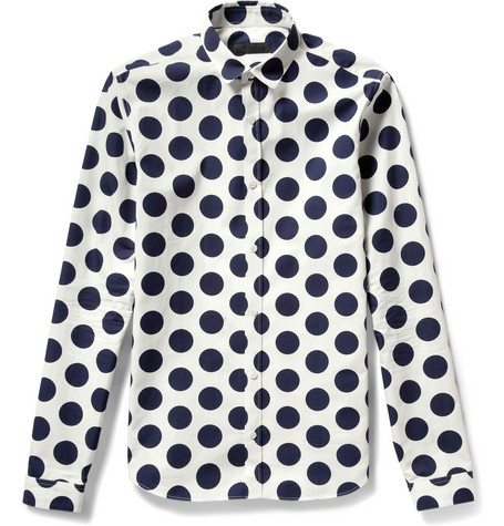 Burberry Prorsum Printed Cotton Shirt