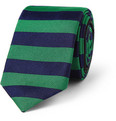 Burberry Prorsum - Striped Woven-Silk Tie