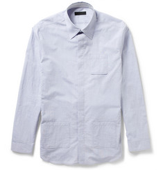 Burberry Prorsum Patch Pocket Cotton Shirt
