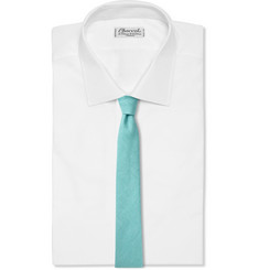 Burberry Prorsum Linen and Faille Tie