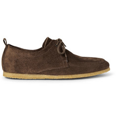 Burberry Prorsum Suede Derby Shoes