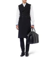 Alexander McQueen Slim-Fit Double-Breasted Sleeveless Coat