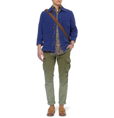 Michael Bastian Billy Textured Linen and Cotton-Blend Jacket